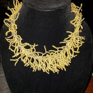 Ethereal style beaded necklace!